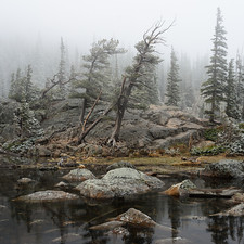 Dream Lake I - Rocky Mountain National Park, Colorado
