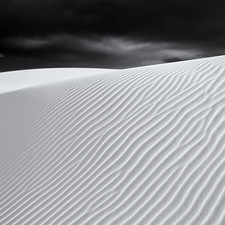 The Seventh Circle, II - White Sands National Monument, New Mexico